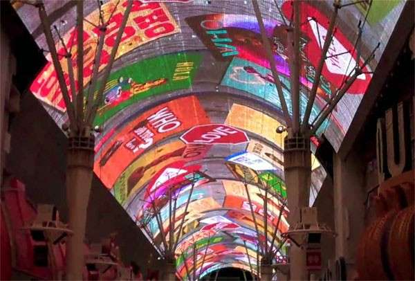 Fremont Experience Light Show