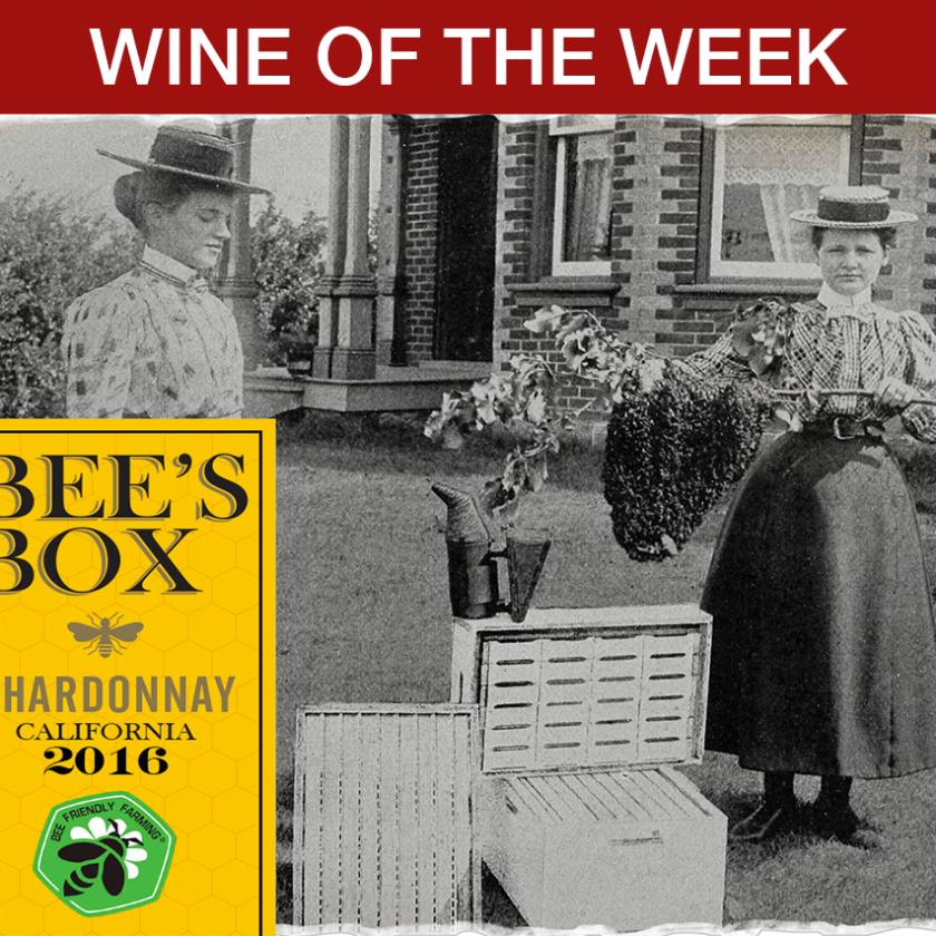 Bee's Box Chardonnay 2016 Wine of The Week