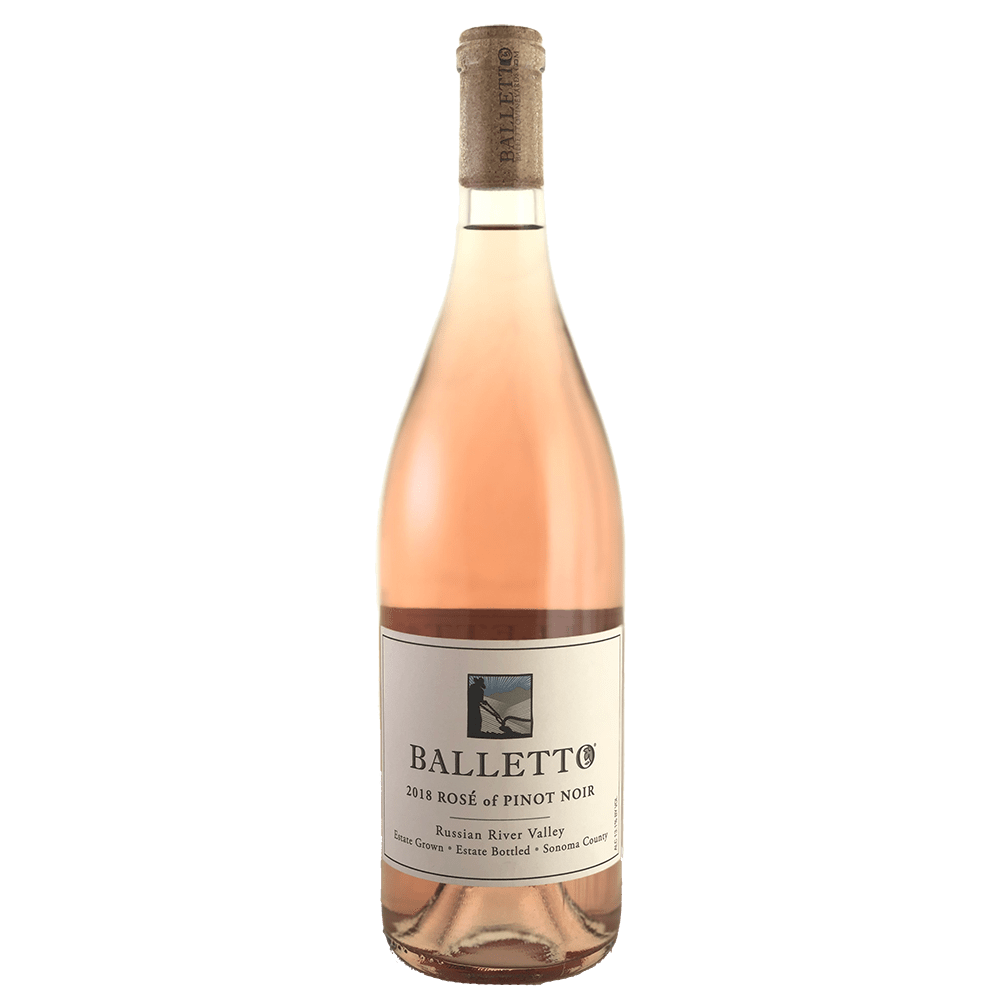 Balletto Rose Pinot Noir 2018